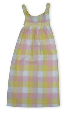 Funtasia Too Lollipops for Me multicolored pastel checked sundress.