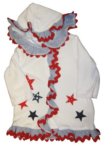 Funtasia Too Love Counting Stars Girls Cover Up with Stars Applique