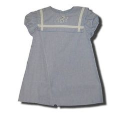Funtasia Too Sailor Time blue sailor dress that is classic and matches the boys