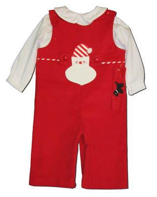 Funtasia Too Sounds Like Santa red longall with a Santa tab and another interchangeable tab for after the holiday season. Also comes with a peter pan shirt. Classic and matches the girls.