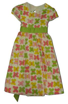Funtasia Too Sweet Butterfly dress with butterfly print.