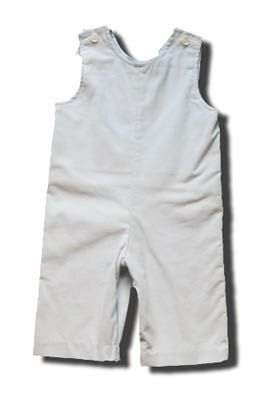 Funtasia Too Tyler light blue longalls that are great for monogramming.