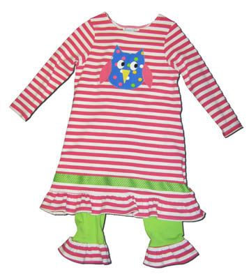 Funtasia Too What a Hoot Knit Dress with matching leggings.