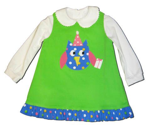 Funtasia Too What a Hoot Reversible Jumper with Dots on the reverse side. Blouse not included.