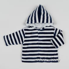 Kissy Kissy City Demo VELOUR Stripe Padded Jacket F17445V-110ST