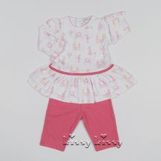 Kissy Kissy Enchanted Princess Print Dress w/Legging F17443-16PLG