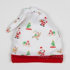 Kissy Kissy Santa's Helpers Print Stocking Hat F17421-201P