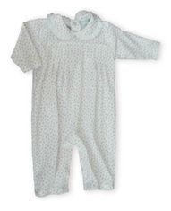 Kissy Kissy Tiny Dancer sweet playsuit with a collar.