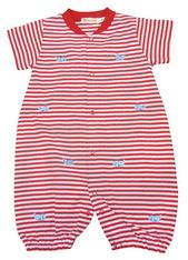 Luigi Boys Whale Watching with Whales Romper with Whale Embroidery. Peruvian Cotton. Softest Cotton in the World.