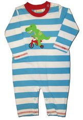 Luigi Gators Race Romper. Soft pima cotton.