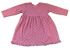 Luigi Patti the Polka Dot fuchsia with lime polka dot cotton dress. Always a favorite.