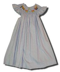 Mom n Me Alice in Wonderland blue angel wing bishop dress. Very cute.