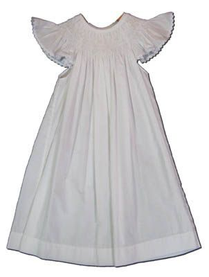 Mom n Me Hope white pearl bishop dress with angel wing sleeves. Classic and cute.
