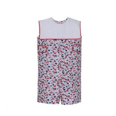Remember Nguyen Fish Print Shortall with Collar.