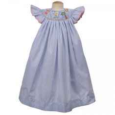 Remember Nguyen Beach Girl Bishop Dress With Angel Wings.