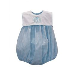 Remember Nguyen Blue Sleeveless with White Collar Bubble.