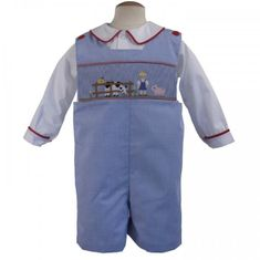 Remember Nguyen On the Farm Shortall. Shirt NOT INCLUDED.