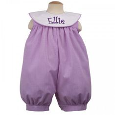 Remember Nguyen Piper Girl Romper with Collar
