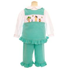 Remember Nguyen Pocahontas & Friends Pant Set . Blouse not included.