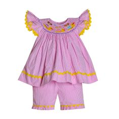Remember Nguyen Rubber Duckie Short Set.