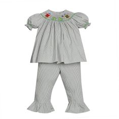 Remember Nguyen Scarecrow Girl Bishop Pant Set.
