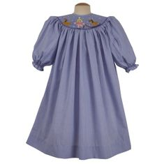 Remember Nguyen Snow Fun blue bishop dress. Classic and a great dress.