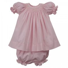 Remember Nguyen Sweet Bella Bishop Dress-Pink