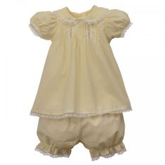 Remember Nguyen Sweet Sophia Girl Infant Dress-Maize