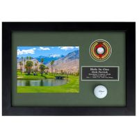 Hole-In-One Enclosed Vertical Shadowbox