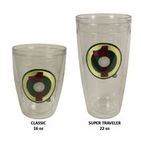 Hole-In-One Tumbler Glasses