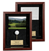 Mahogany Hole-In-One Photo/Scorecard Shadowbox