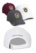 Maroon Hole in One Hat and Ball Marker