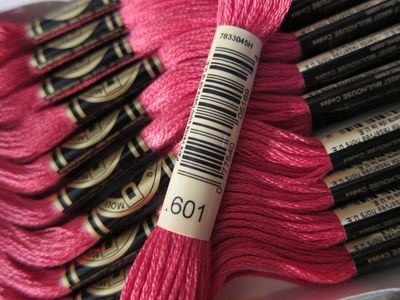 DMC Embroidery Floss ~ Solid Colors ~ Numbers 1 to 999