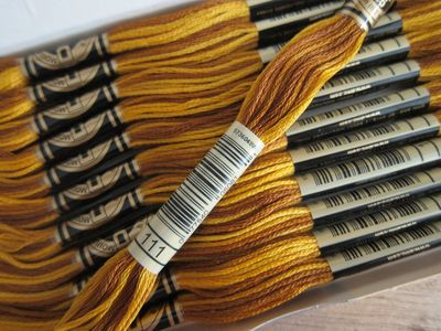 DMC Embroidery Floss ~ Variegated Colors