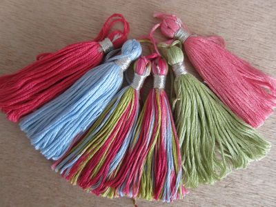 Embellishments ~ Tassels, Pompoms, Appliques & other Supplies...