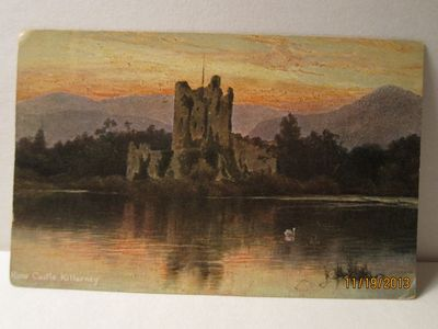 Ross Castle, Killarney, Ireland - S. Hildesheimer & Co., Killarney Series - circa 1905