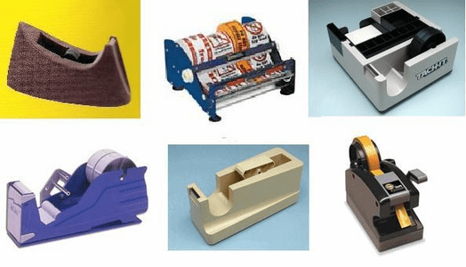 Dispensers for all types of adhesive tape
