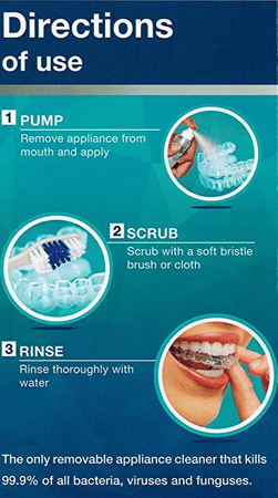 Anti-Bacterial Mouthpiece Cleaner