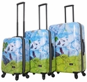 "Halina Bee Sturgis ""Fly Dream"" 3-Piece Luggage Set"