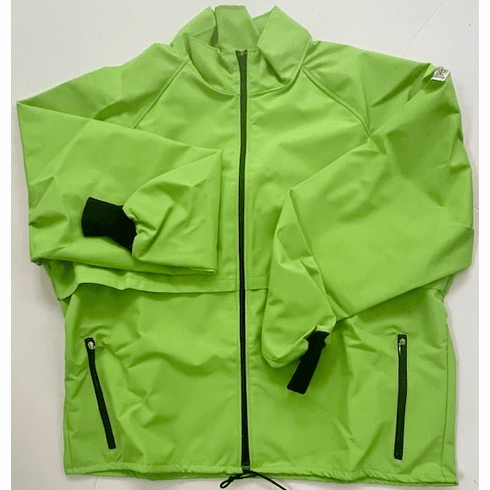 Bright Green 10-Miler Jacket