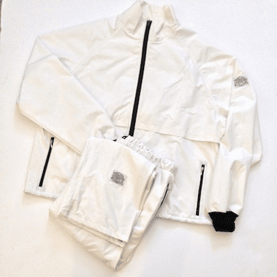 Star White 10-Miler Moss-tex Suit