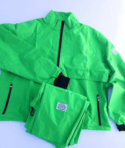 Summer Green 10-Miler Moss-Tex Suit