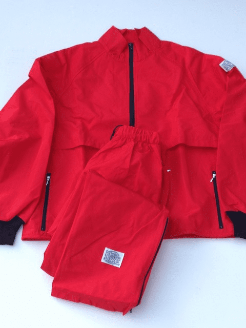 New! Jalape�o Red 10-Miler MOSS-TEX Suit