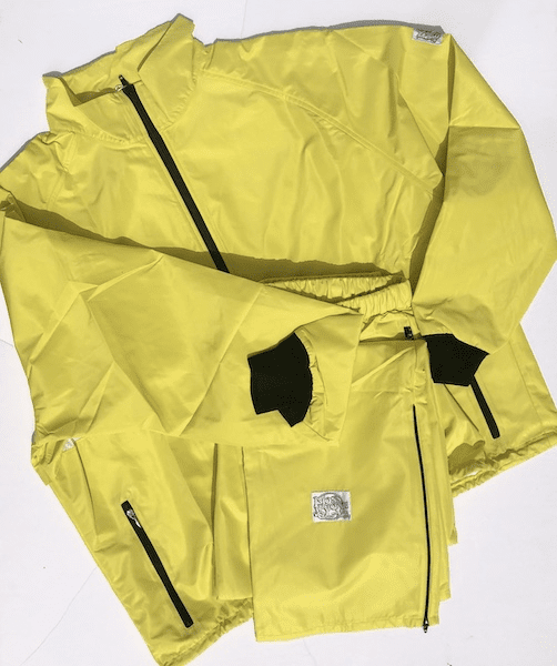 New! Lemon Sheen 10-Miler MOSS-TEX Suit