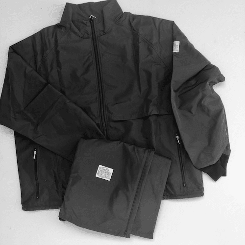 New! Pirate Black 10-Miler MOSS-TEX Suit