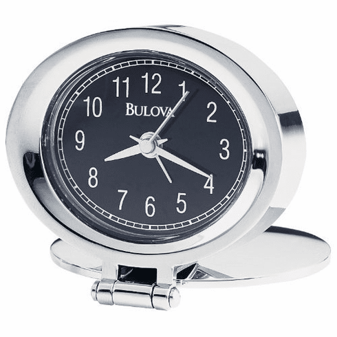 Adamo Alarm Clock by Bulova
