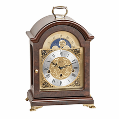Aimee Key Wound Mantel Clock by Hermle