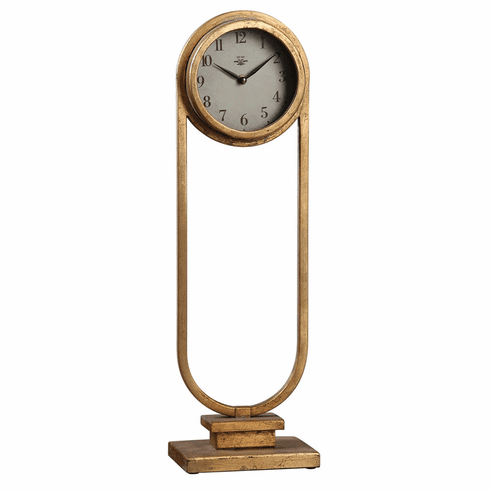 Alard Mantel Clock by Uttermost