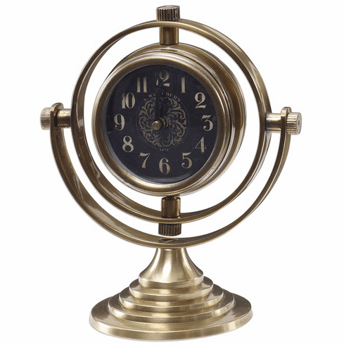 Almonzo Mantel Clock by Uttermost