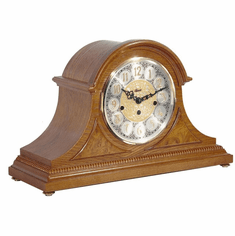Amelia I Chiming Keywound Mantel Clock by Hermle